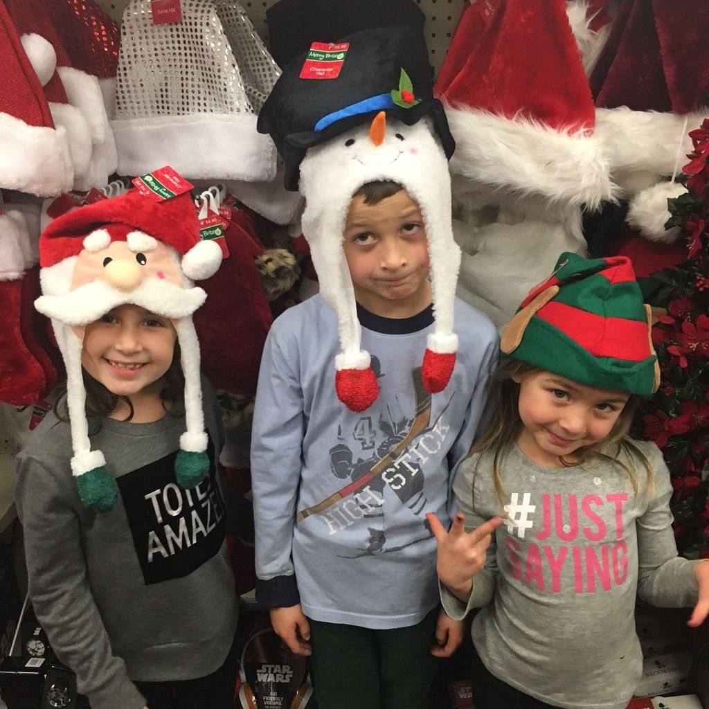 4f2c7ae60447b Holiday tip  Grab those silly Christmas hats on sale at CVS for photo opps