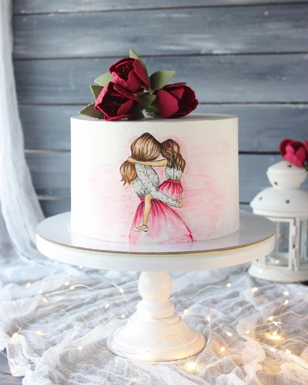Нет описания фото. | Художественные торты, Тематические ...