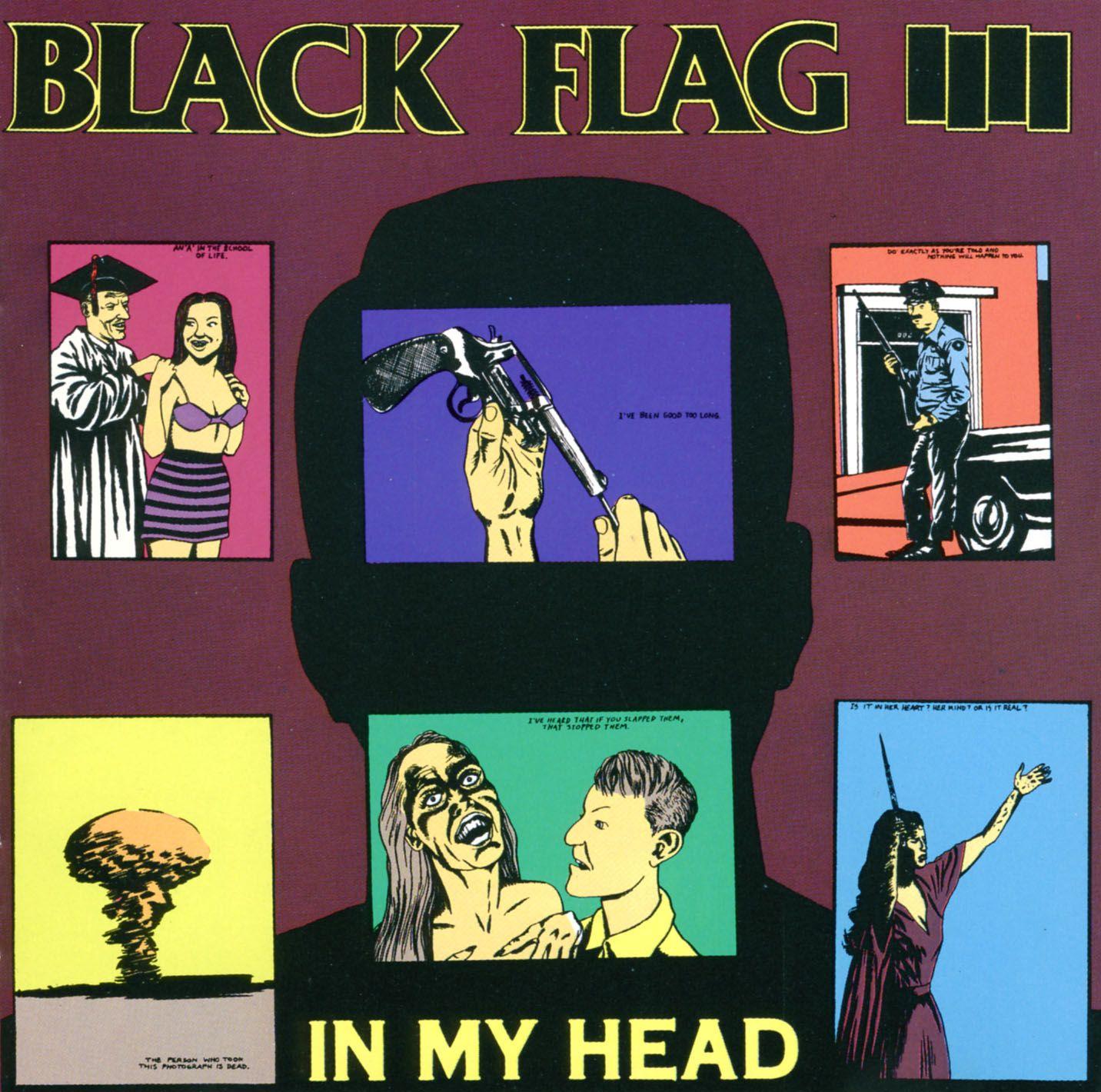 Black Flag In My Head Black Flag Flag Punk Music