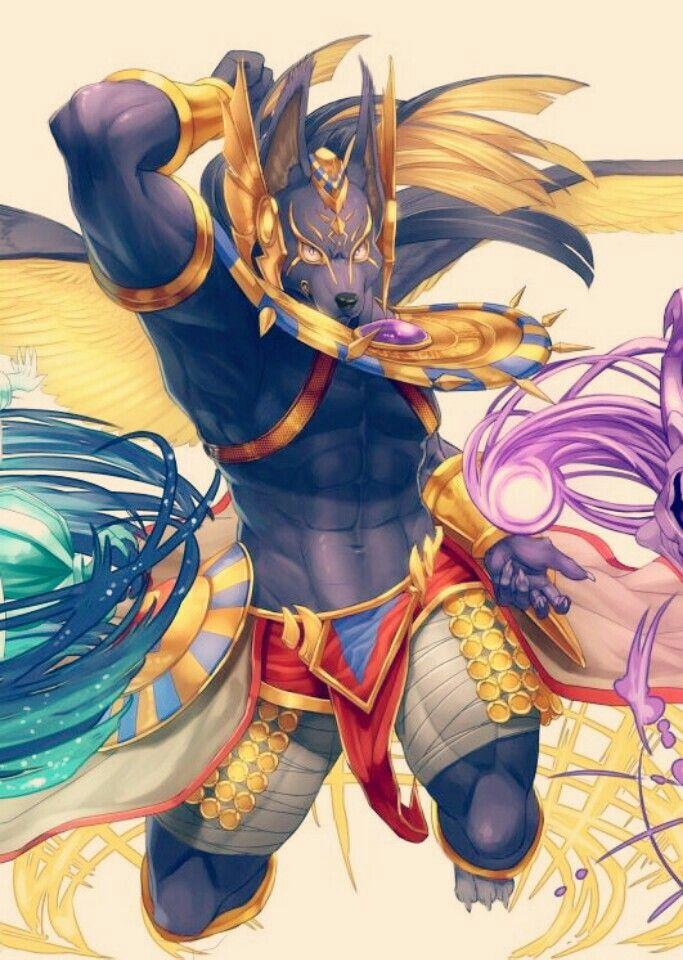 Anubis By Viria Percy Jackson Rysunki Szkice