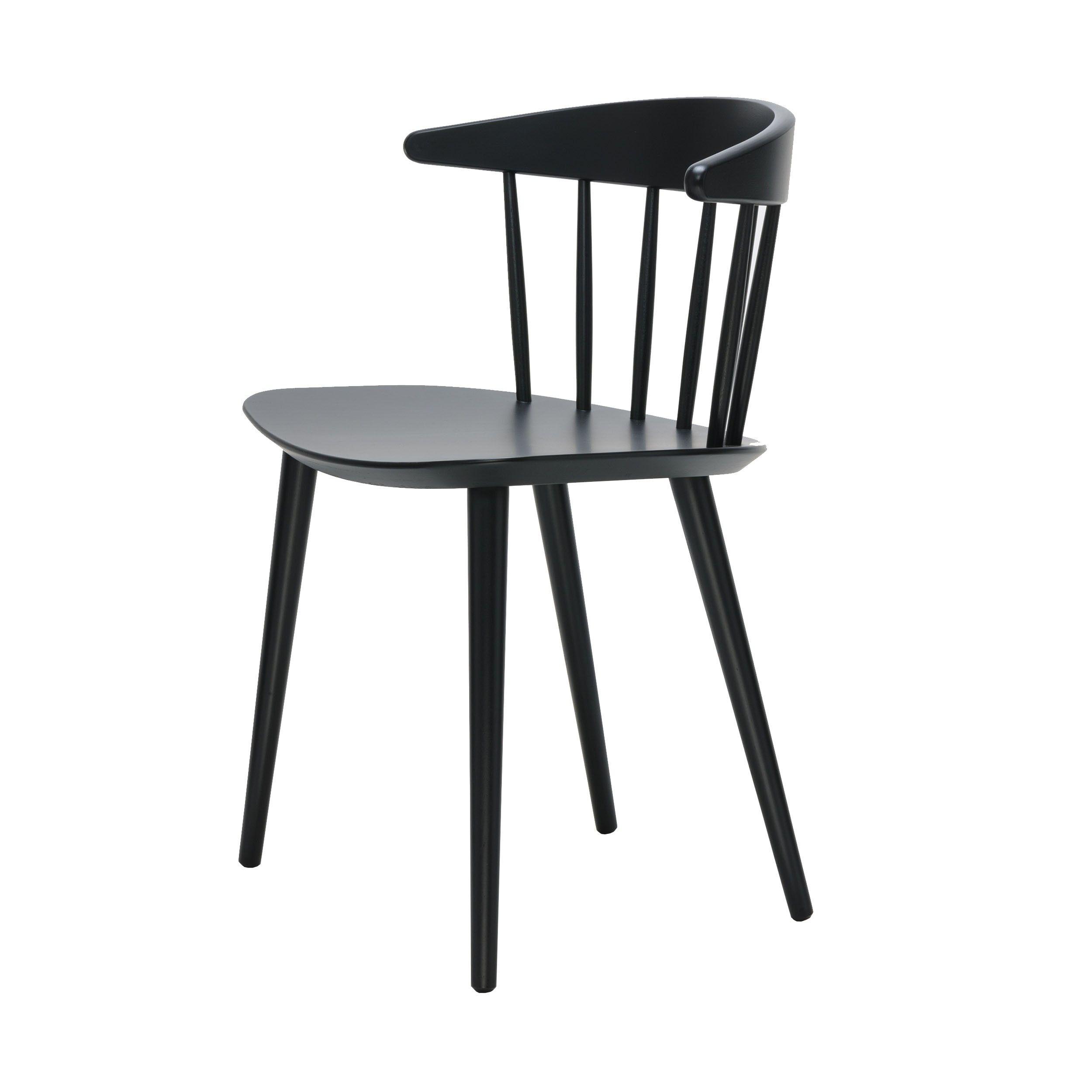 J20 Stuhl schwarz - Hay - A20.20  Holzstühle, Stühle, Stuhl
