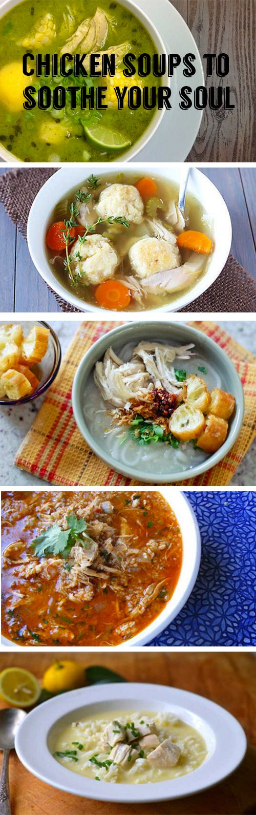 There's nothing quite like a soul-fixing bowl of soup on a winter's day