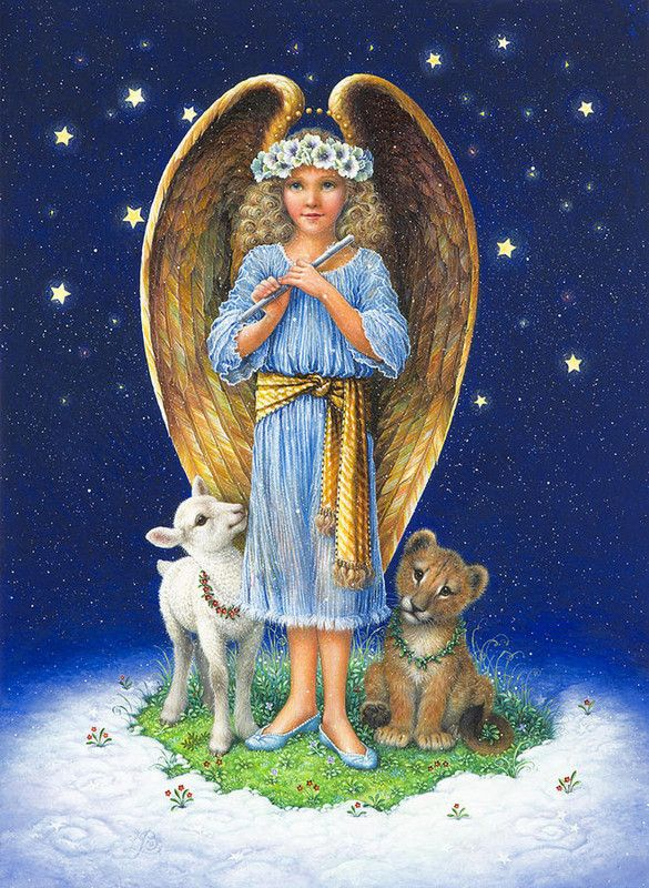 Christmas angel by Lynn Bywaters