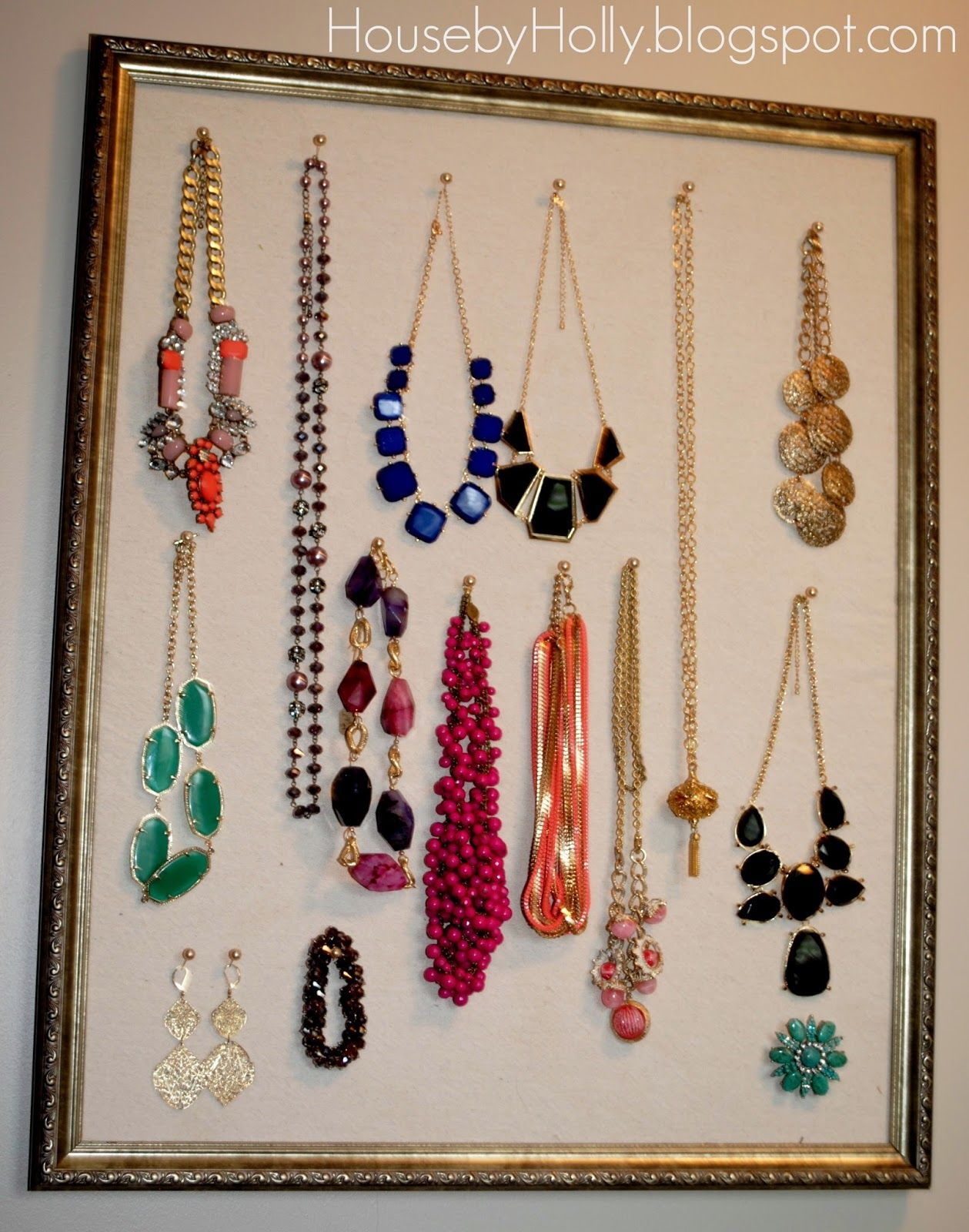 A Jewelry Board with Meaning... Diy craft projects