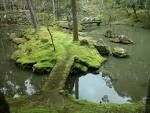 Saiho Ji. Temple famed for its moss garden with heart shaped garden design - have to apply in advance.