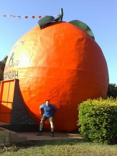 The Big Orange - Gayndah, Qld   cool~~   Hats, Big, Worlds ...