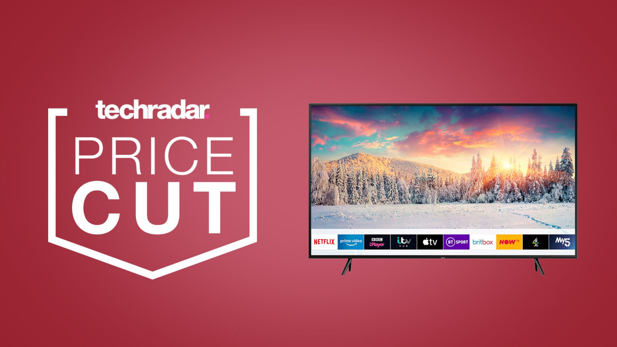 Christmas TV has never looked so good this Samsung 4K TV