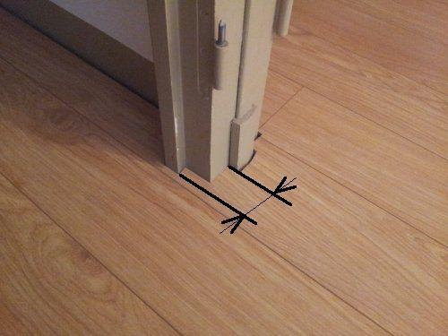 Comment poser un parquet flottant (Partie 1 2) Reussir-Ses-Travaux - pose de seuil de porte