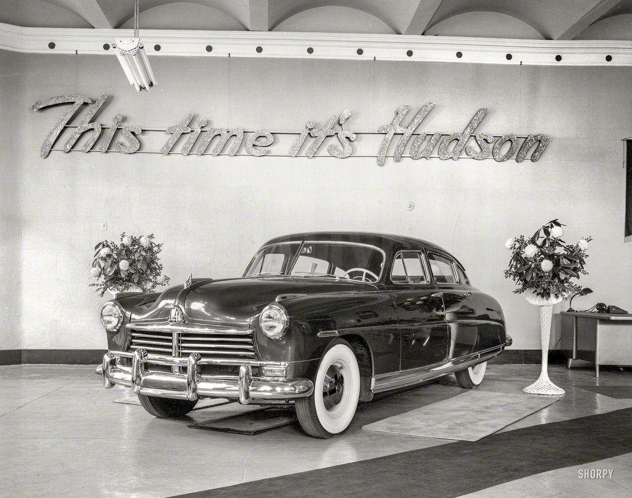 1948 Hudson At The New York International Auto Show