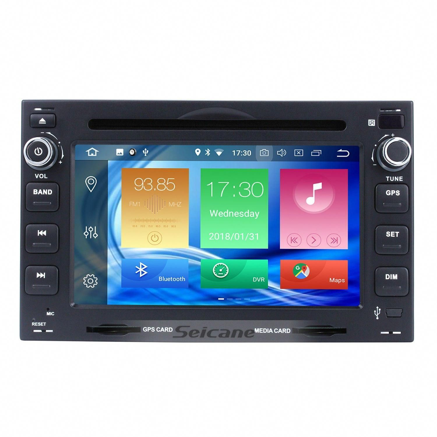Seicane Aftermarket Radio Android 8.0 6.2 Inch DVD Player