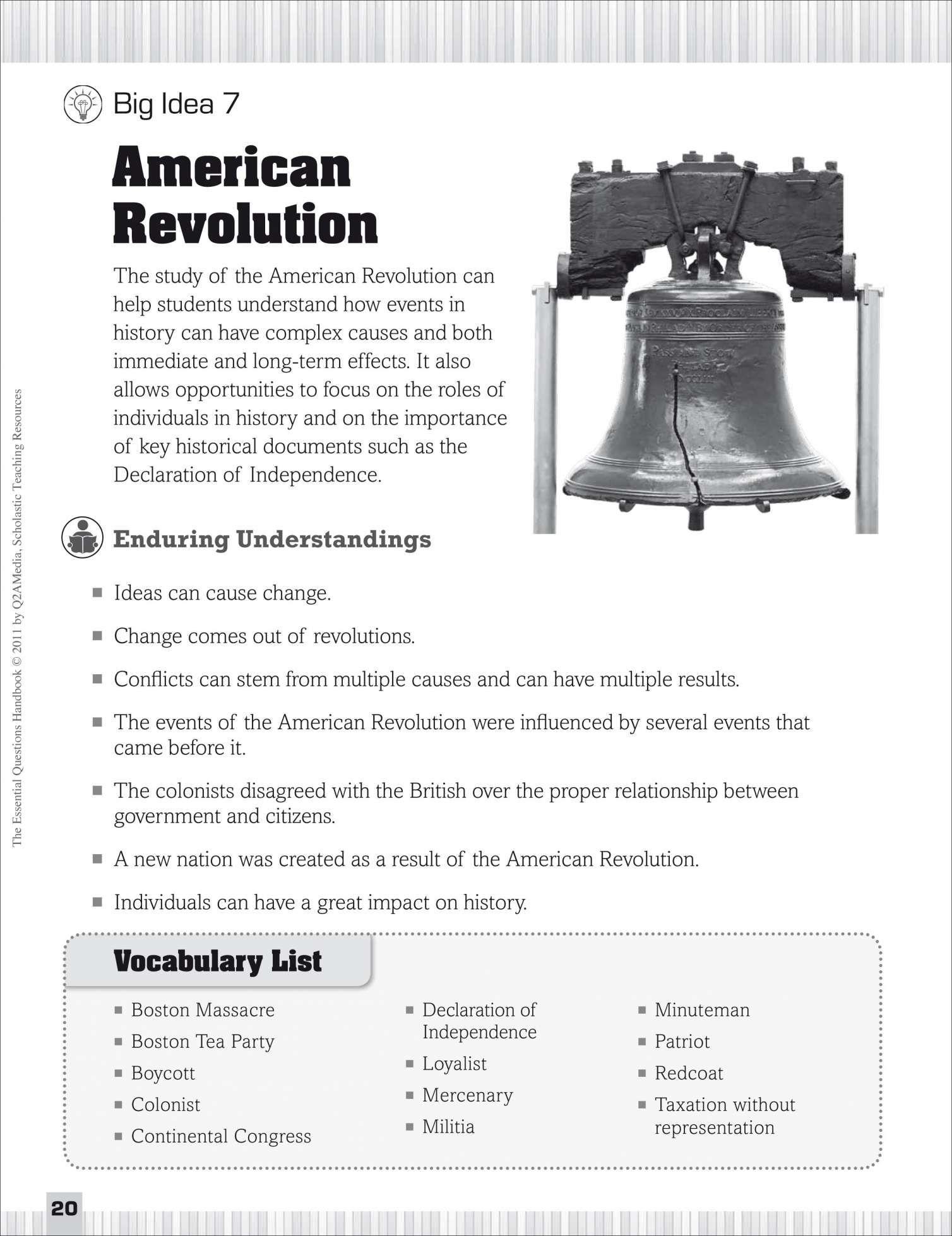 10 5th Grade Revolutionary War Worksheets