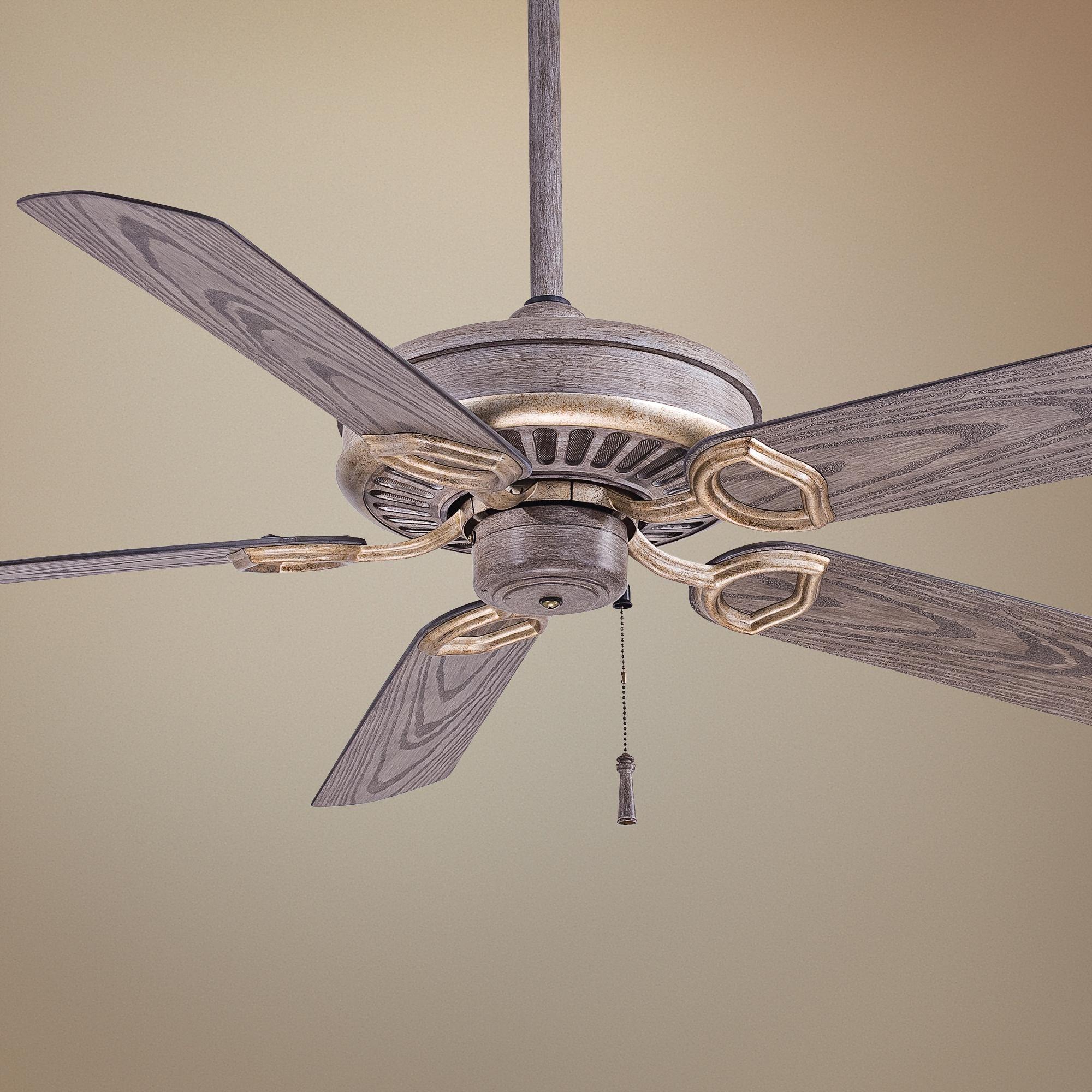 54 Inch Minka Aire Sundowner Driftwood Outdoor Ceiling Fan