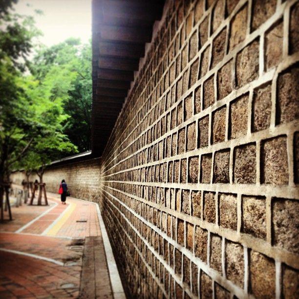 Historical houses in Seoul, Korea. Annyeonghaseo!