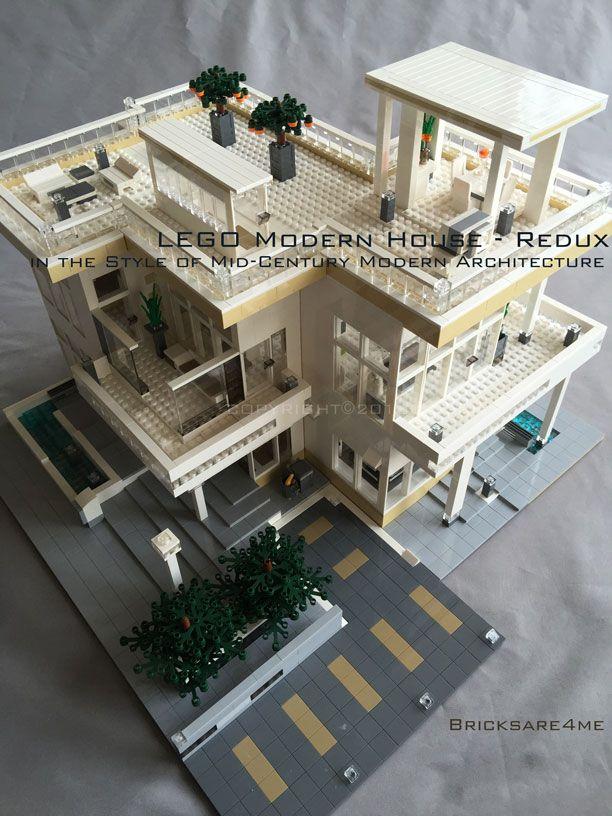 Modern Architecture Lego lego modern house   lego   pinterest   modern architecture, lego