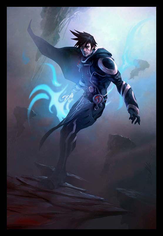 Jace By Ainoko999 On Deviantart Mtg Art Fantasy Art Magic Art