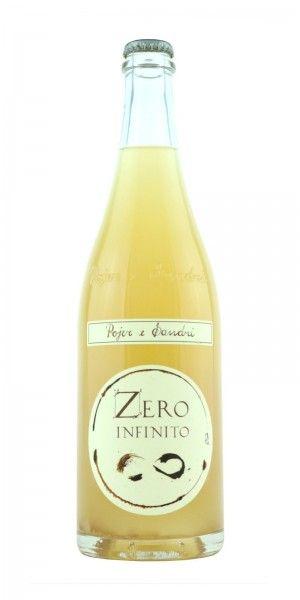 Zero Infinito Bianco Frizzante Bio Col Fondo Infinito E Bianco