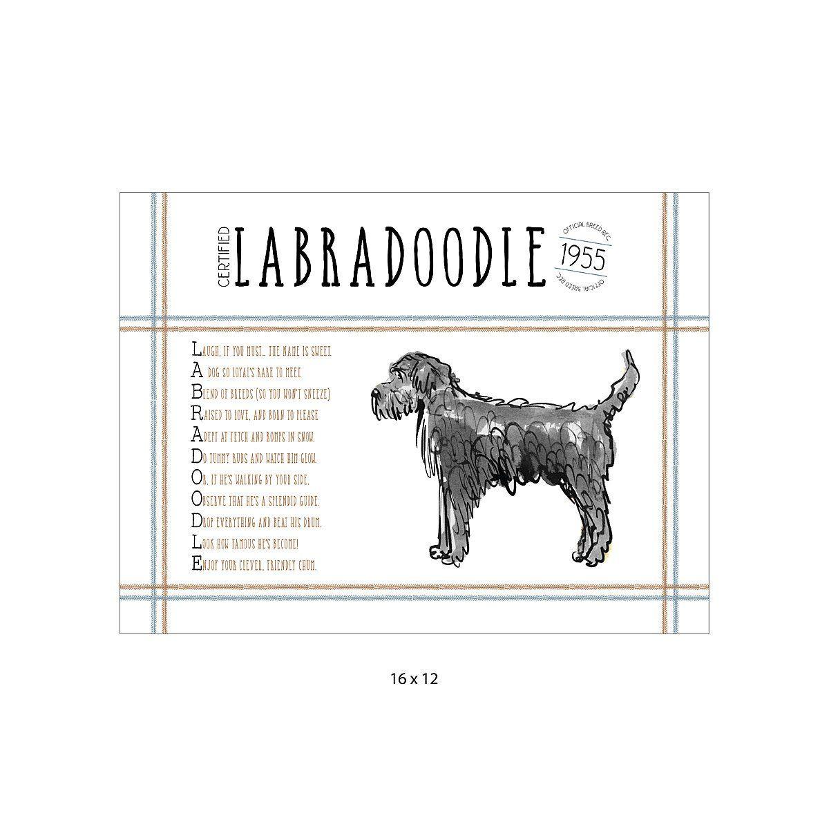 Pedigree Poem Art Dog Lover Gifts Havanese Havanese Puppies