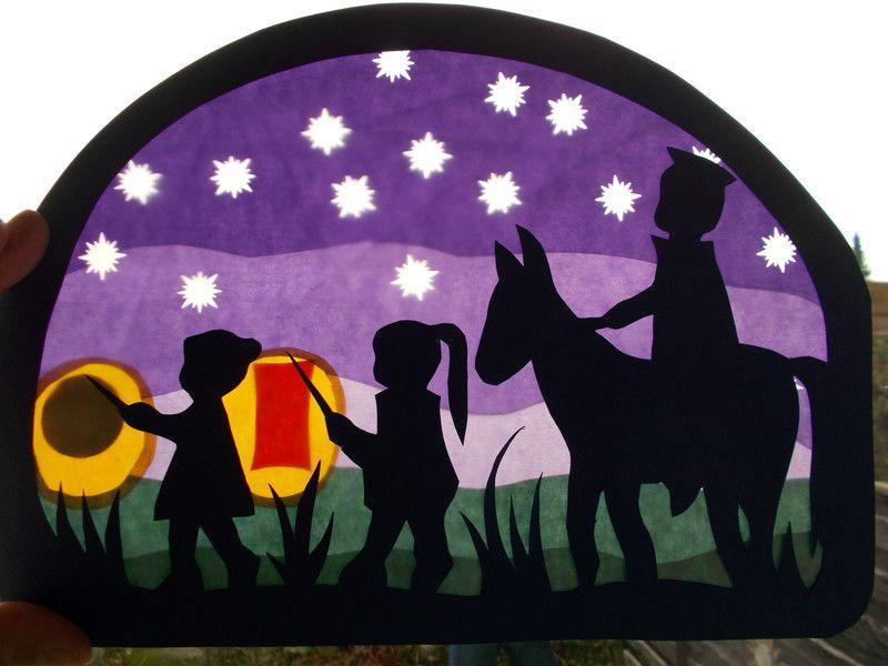 St Martin Fensterbilder Als Deko Weihnachten 2