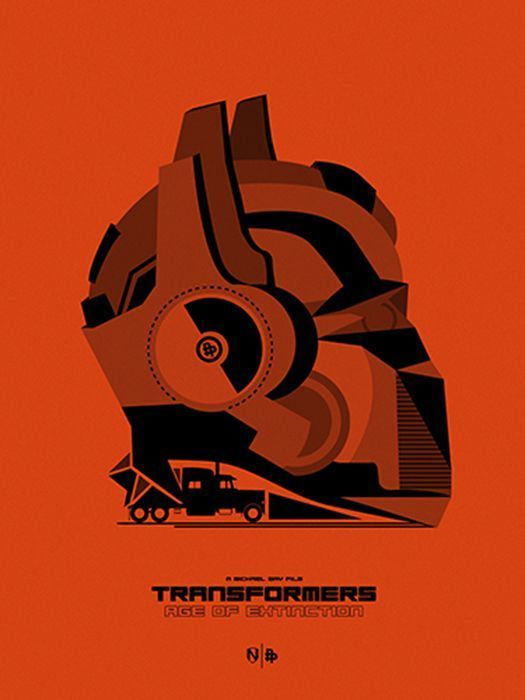 TRANSFORMERS: AGE OF EXTINCTION by Matt Needle #AlternativeFilmPoster