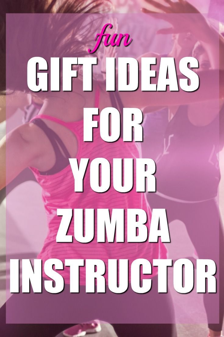 These Are Super Fun Gift Ideas For My Zumba Instructor She S Made Such A Difference In Life I Love Her Coach Thank You Gifts