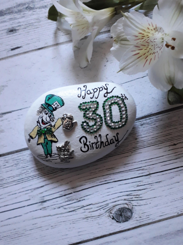 The Mad Hatter Inspired Gift 30th Birthday Keepsake Celebration