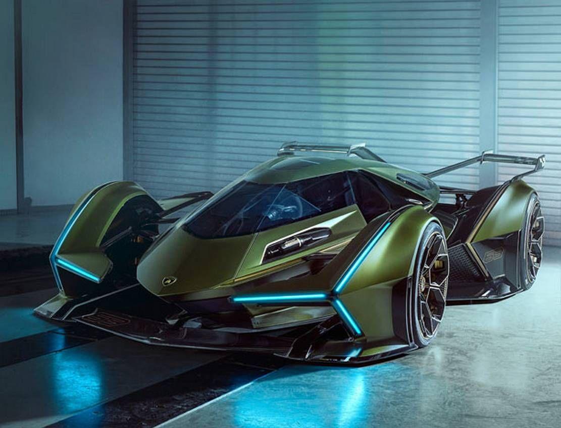 Lamborghini V12 Vision Gran Turismo Wordlesstech Sports Cars Luxury Futuristic Cars Super Sport Cars