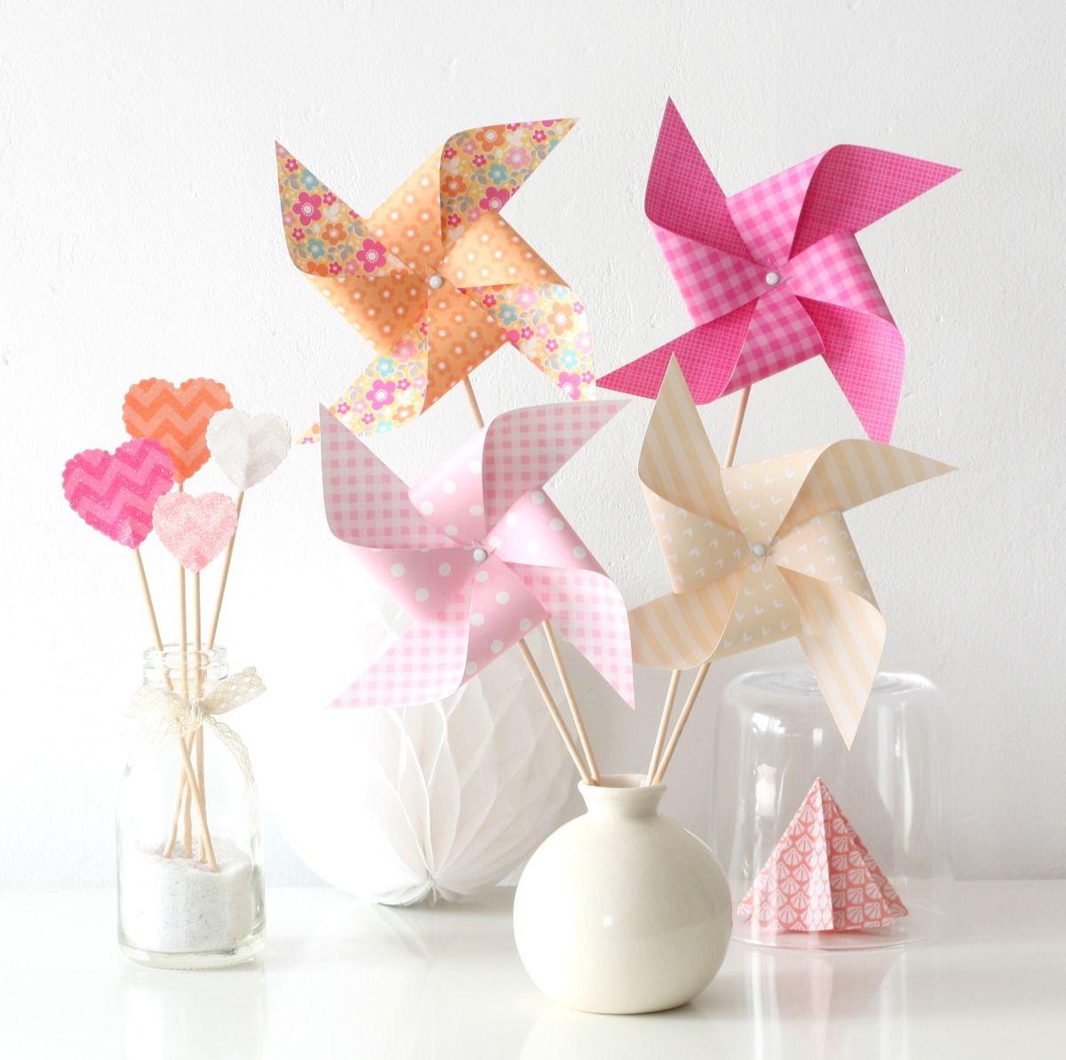 8 moulins vent pour bapt me anniversaire mariage d coration chambre d 39 enfant coloris. Black Bedroom Furniture Sets. Home Design Ideas