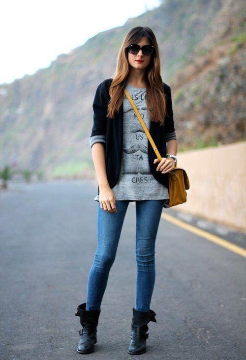 LOOK EN BOTAS | closet | Ropa, Outfits casuales y Ropa y