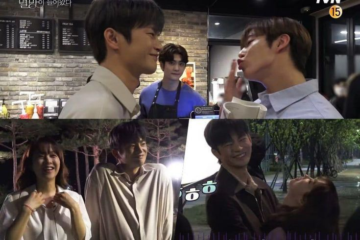 """Watch: Seo In Guk, Park Bo Young, SF9's Dawon, And Kang Tae Oh Have Undeniable Chemistry On Set Of """"Doom At Your Service"""""""