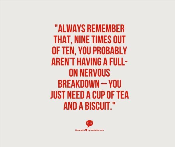 Just got to watch out for that one time in to! Then again a good cup of tea fixes anything! #tea #looseleaftea #cuppatea