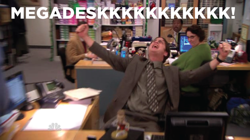 mega desk the office Google Search The office dwight