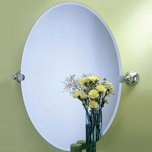 Gatco G4359LG Charlotte Oval Mirror