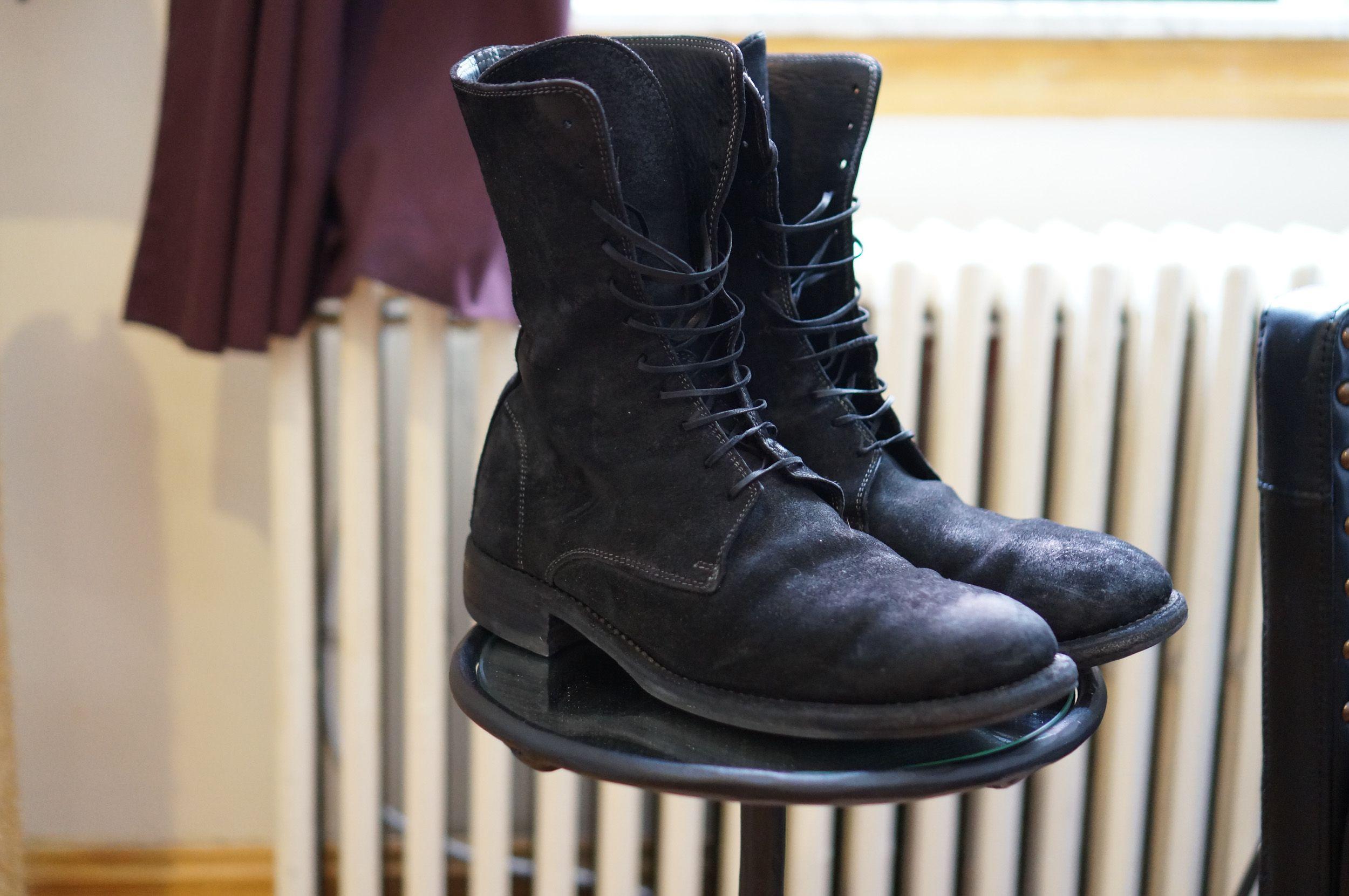 155a0559c7486 Guidi: 991 Cordovan Cont. reverse horse leather boot | No.714 ...