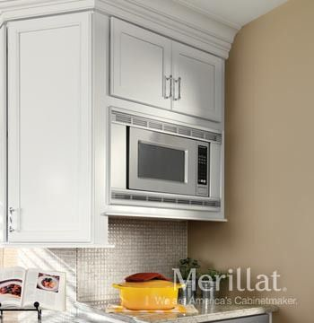 Merillat Classic® Wall Microwave Cabinet - Merillat | Home Charms ...