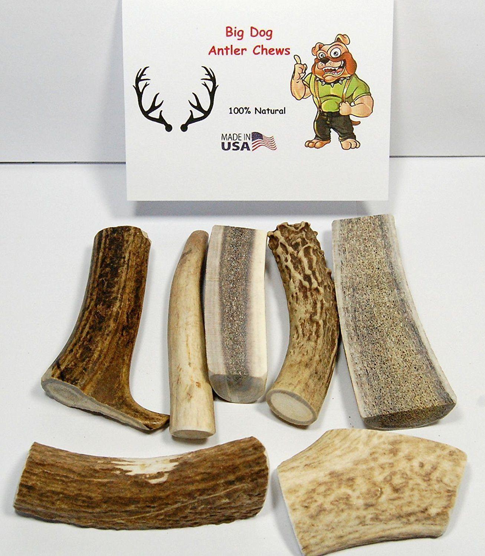 Barkworthies Natural Elk Antler Medium Dog Chew 4 inch-5 inch