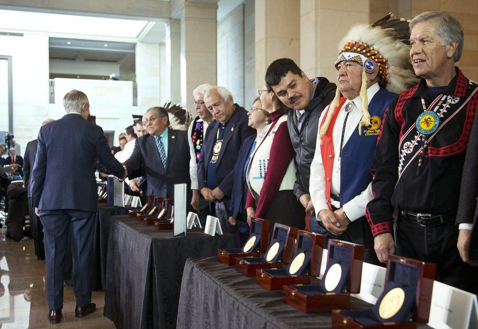 Congress honors American Indian code talkers Article