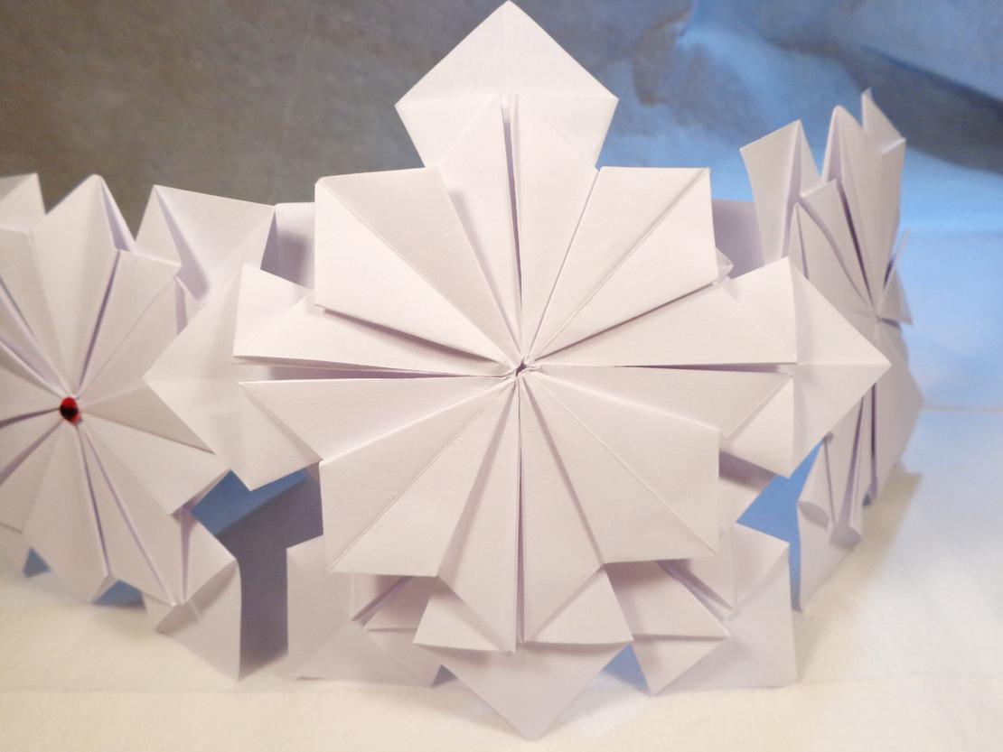 Origami Christmas Star 8 Points Regular Copyprinter Paper 8