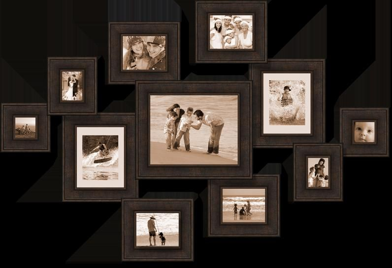 Home Decor Collage Big Collage Picture Frame Frame On Wall Black Frame Family Wall Wall Collage Picture Frames Picture Frame Wall Large Collage Picture Frames