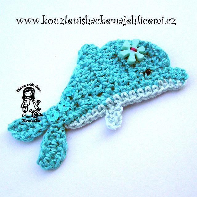 Crochet Appliques Crochet Fish Crochet Crochet