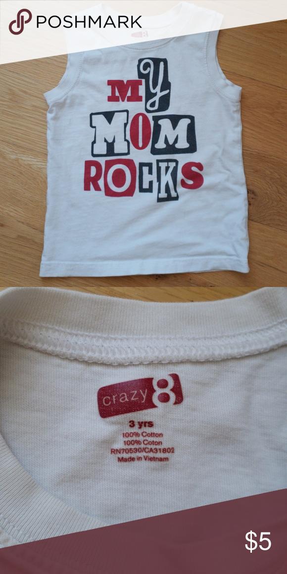 6932dbef3 Boy's muscle shirt Boys Crazy 8