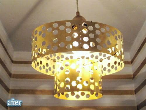 How I Saved My Skin For Less Than 50 Diy Chandelier Cool Light