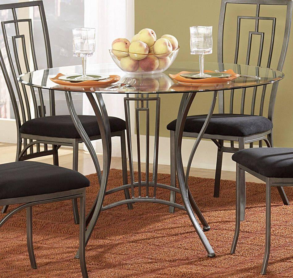 Flight Dark Grey Metal Glass Dining Table Glass Dining Table Walnut Wood Dining Table Dining Table