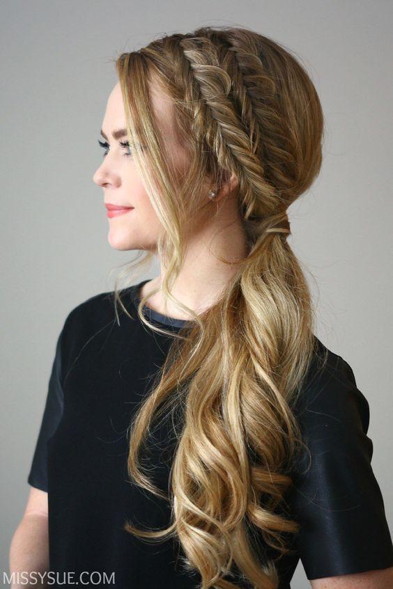 Fryzury Na Wesele Urocze Upięcia Na Bok Strona 9 Hair Styles