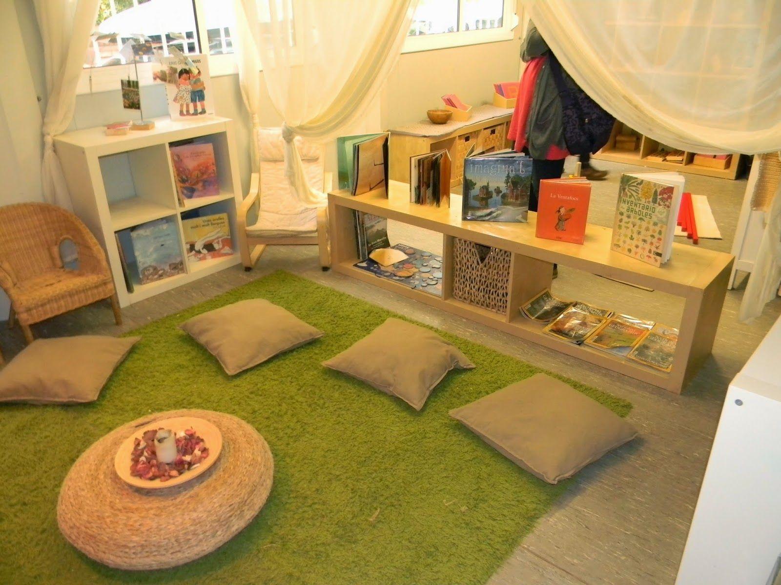 Klassenzimmergestaltung grundschule leseecke for Raumgestaltung kita 3 6