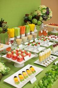 Healthy party snacks