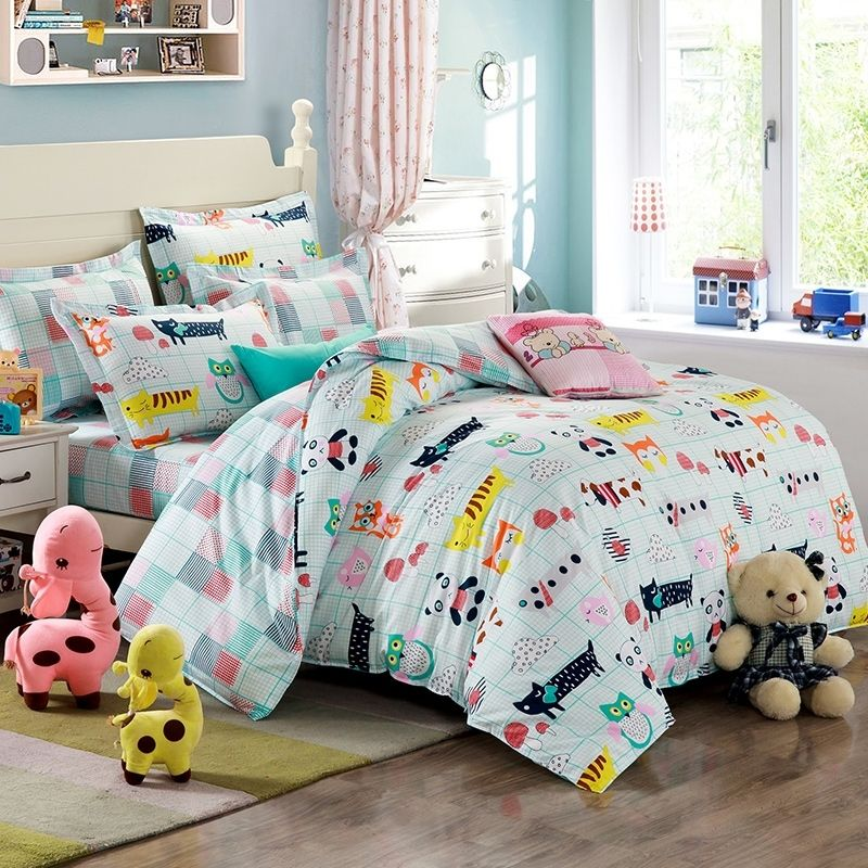 Light Blue And Teal Multi Color Jungle Animal Party Zoo