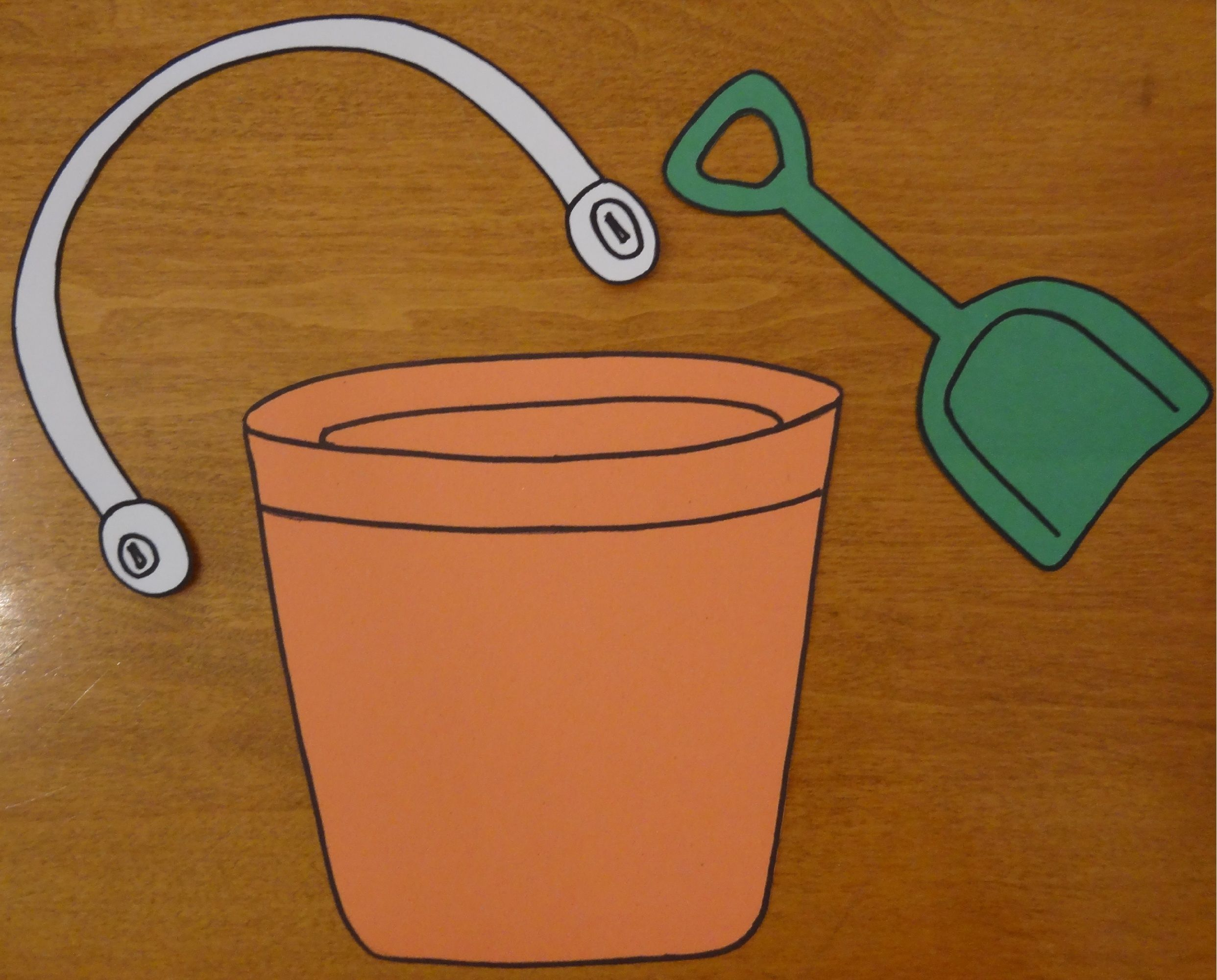 Checkout This Great Post On MPM School Supplies Blog1 Template For Beach Pail And Shovel