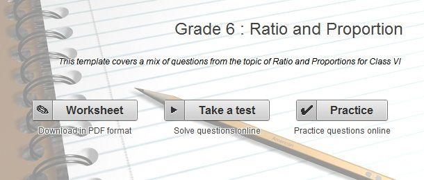 Grade 6 Ratio and Proportion worksheets   Math Pics   Pinterest