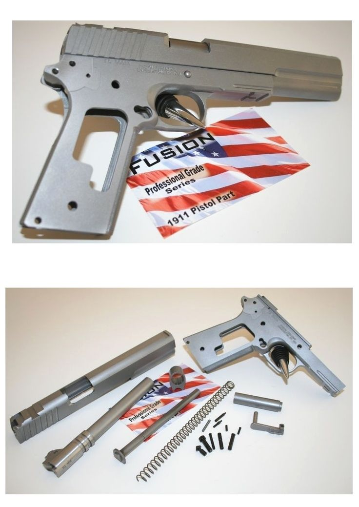 The Rudius 1911 Frame is an 80% Build a firearm product from Ares ...