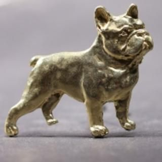 French Bulldog sterling silver brooch All Breeds Charms